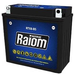 Bateria Selada Raiom Rtx8-bs - Honda Nx200 - Cbx200 Strada