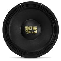 Alto Falante Woofer Eros 18 2250w 4.5k Target Bass Subwoofer