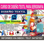 Curso Diseño Textil / Serigrafia