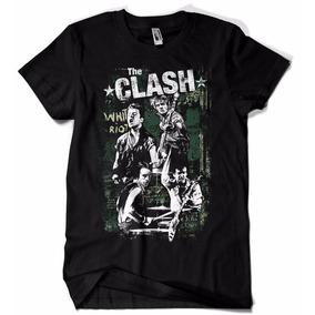 Camiseta The Clash Banda Cllassic Rock Camisa