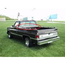 Chevrolet Silverado Cheyenne 81 - 90 Molduras Diadema Cabina