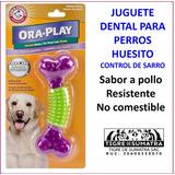 Juguete Dental Para Perros Huesito Marca Arm & Hammer