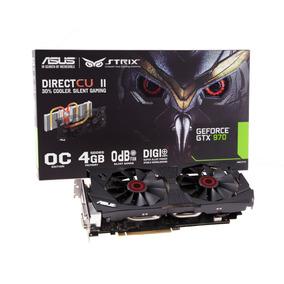 Placa De Vídeo Asus Geforce Gtx 970 Oc 4gb 256-bit