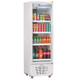 Refrigerador Vertical Gelopar 230l Porta De Vidro