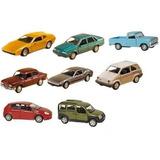 Kit 8 Miniatura Carros Metal Clássicos Nacionais - Promoção