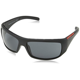 Prada Sport Sunglasses - Ps01ls / Marco Negro Lente Gris