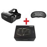 Vr Shinecon Visor Lente Hd Casco Realidad Virtual 360°