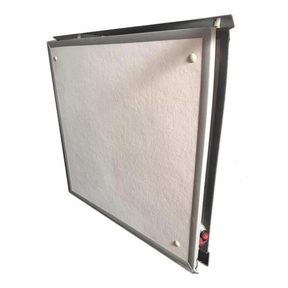 Panel Electrico 500w Con Chapa Placa Bajo Consumo Estufa--18 Cuotas Sin Interes