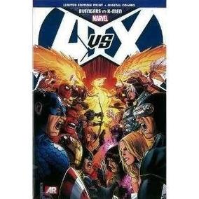 Marvel Avengers Vs. X-men Libro Comic Pasta Dura - Nuevo
