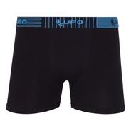Cueca Lupo Masculino Adulto Boxer Kit2 Ref. 00784-088