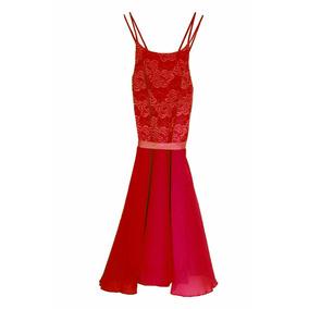Vestido Daisy De Gasa Espalda Descubierta, Brishka M-0070