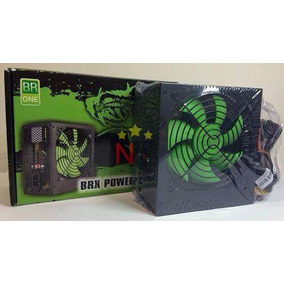 Fonte Brx Real 700w Cooler 12cm Power Supply C/ Cabo