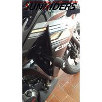 Slider Defensa Deslizador Burrera Cbr 250 Honda Negro
