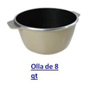 Olla De 8 Nueva Kitchen Fair Sin Tapa