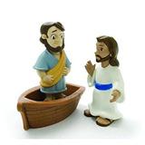Juguete Cuentos De Gloria - Jesús Camina Sobre El Agua