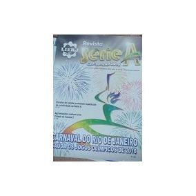 Revista Serie A Carnaval 2016 Lierj Liga Escolas De Samba D