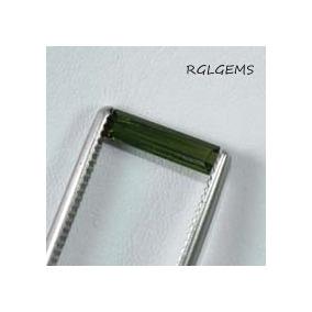 Turmalina Verde - Comprida -cod:bx9 -t.13x3x2.0mm