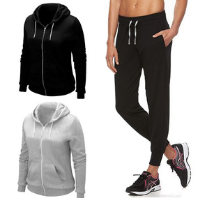 Conjunto Deportivo Buzo Y Pantalón Jogging Mujer Ropa