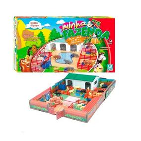 Brinquedo De Montar Minha Fazenda 230 - Nig