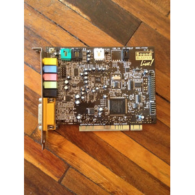 Tarjeta De Audio Sound Blaster Live Ct4780