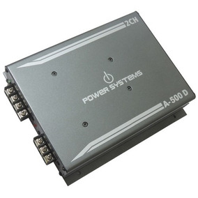 Amplificador Digital Power Systems A500- 2 Canais