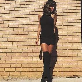 Vestido Casual Corto Negro