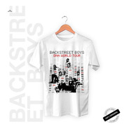 Camiseta Oficial Backstreet Boys Dna World Tour 2020 +brinde