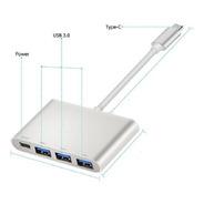 Tipo C Hub Usb 3.0 Pd Macbook Convertidor Adaptador