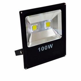Refletor Led 100w Holofote Bivolt Branco Frio Prova D Agua