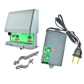 Booster Amplificador De Sinal Para Tv Digital 26 Db Uhf