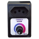 Dimmer Universal 600w Regulador Velocidade Bivolt Dimer