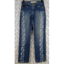 Calça Jeans Lycra 38 Customizada