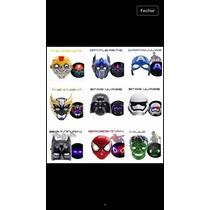 Mascara Star Wars,vingadores Com Luz Valor Da Unidade