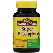 Naturaleza Made Super B Complex Tabletas 140 Count (paquete