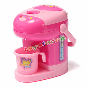 Mini Cafeteira Elétrica Brinquedo Infantil Criança Bebê
