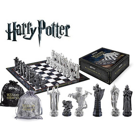 Harry Potter Wizard Chess Jogo De Xadrez Noble Collection