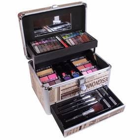 Maleta Com Kit De Maquiagem Completo Jasmyne V267
