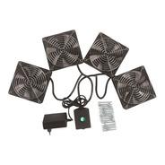 Kit De Ventilação Para Rack 4 Ventil Padrão Univl Bivolt Pat