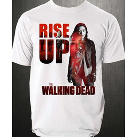 Rosita Walking Dead Playera Envio Gratis!!