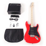 Tamaño Completo Guitarra Eléctrica + Amplificador... (red)