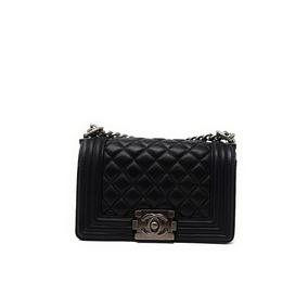 Bolso Boy Pequeño Chanel Black Oferta