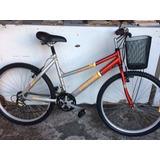 Bicicleta Sundown Feminina Semi-nova