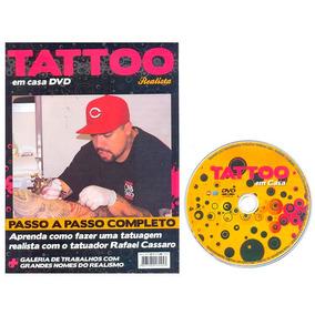 Revista + Dvd Tattoo Passo A Passo Completo Editora Sampa