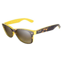 Lentes Ray Ban New Wayfarer Rb 2132 6014/85 Yellow Tortoise