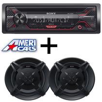 Combo Stereo Sony Cd/usb Parlantes 5 Sony Auto. Audio Car