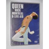 Dvd Duplo Queen Rock Montreal & Live Aid 1985 Lacrado !
