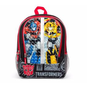 Mochila Transformers Importada Usa 40 Cm Excelente!!!