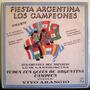 Disco Lp Argentina Campeon Mundial 78 Yiyo Arangio Futbol