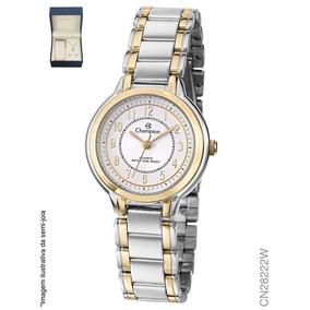 25760b9481e Relogio Feminino Com Numeros Champion - Relógios De Pulso no Mercado ...