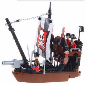 Brinquedo Para Montar 167 Peças Sea Rover Navio Pirata